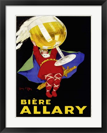Framed Biere Allary, 1928 Print