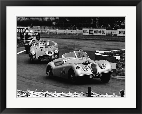 Framed International Sports Car Race, UK, 1952 Print