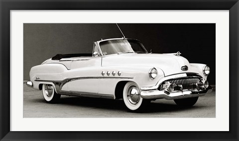 Framed Buick Roadmaster Convertible Print