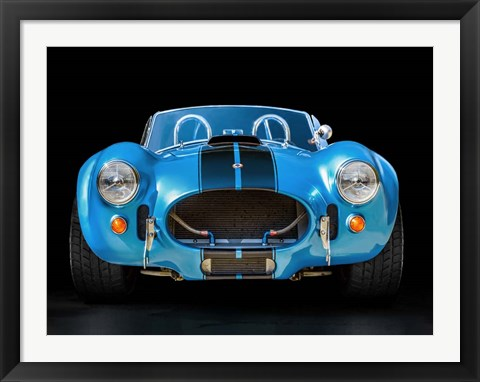 Framed Shelby Cobra Print