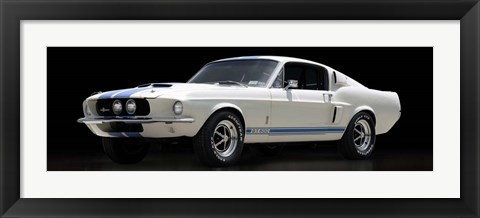 Framed Shelby GT500 Print