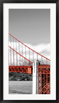Framed Golden Gate Bridge III, San Francisco Print