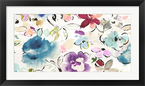 Framed Floral Galore Print