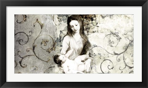 Framed Madonna and Child (after Van Dyck) Print