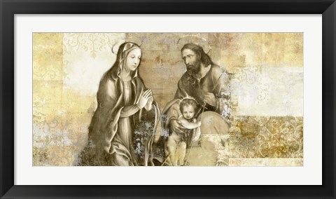 Framed Nativity (after G. Antonio Bazzi) Print