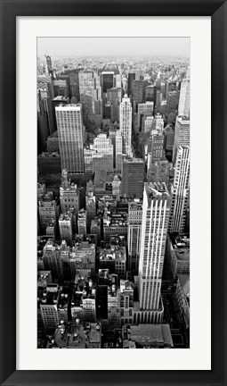 Framed Skyscrapers in Manhattan II Print