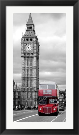 Framed Under the Big Ben Print
