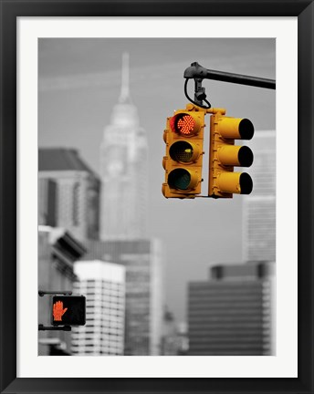 Framed Crossroads, New York Print