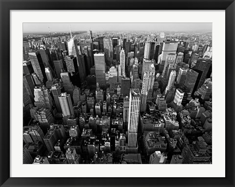 Framed Midtown Manhattan, NYC Print