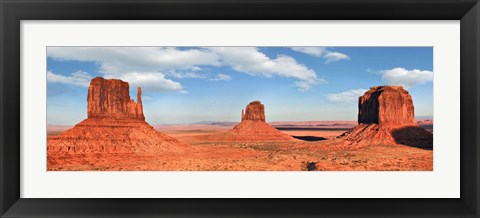 Framed View to the Monument Valley, Arizona Print