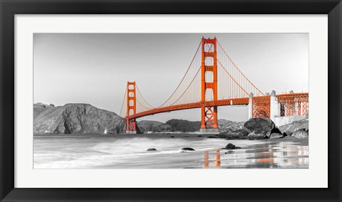 Framed Golden Gate Bridge, San Francisco Print