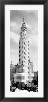 Framed Chrysler Building, NYC Print