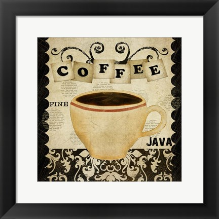Framed Coffee Fine Java Print