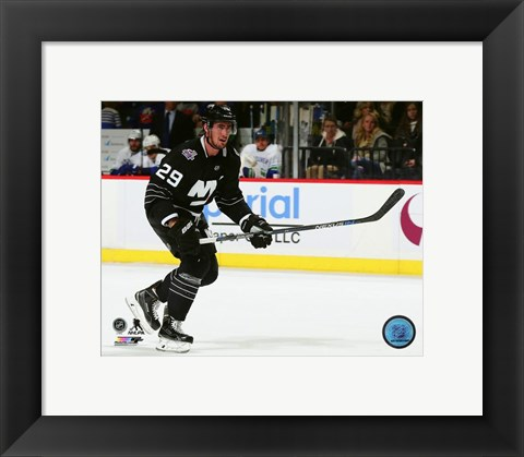 Framed Brock Nelson 2015-16 Action Print