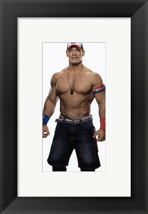 Framed John Cena 2016 Posed Print