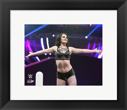 Framed Paige 2015 Action Print