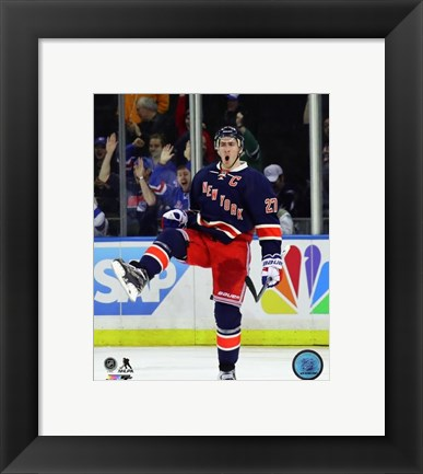 Framed Ryan McDonagh 2015-16 Action Print