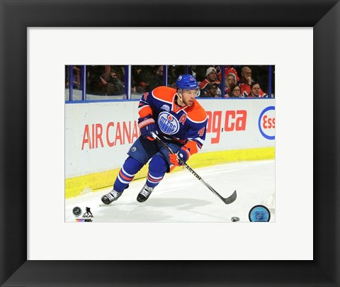 Framed Taylor Hall 2015-16 Action Print