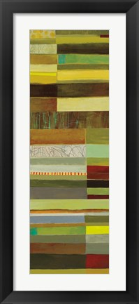 Framed Fields of Color III Print