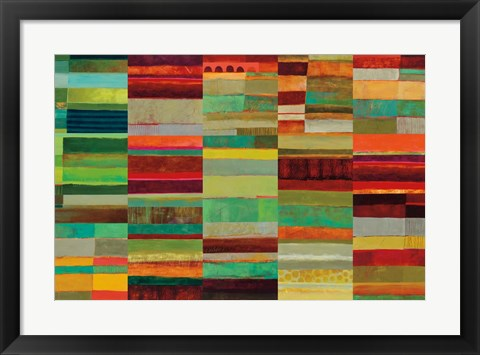 Framed Fields of Color VIII Print
