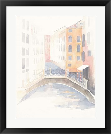 Framed Venice Crosswalk Print