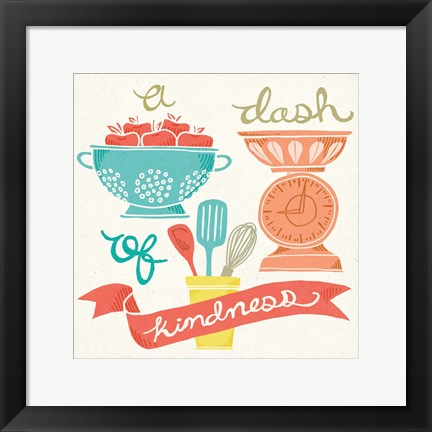 Framed Dash of Kindness Print
