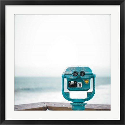 Framed Pacific Cool I Print