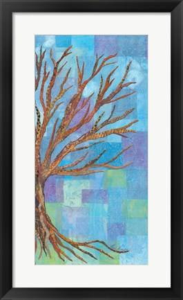Framed Wedding Tree II Print