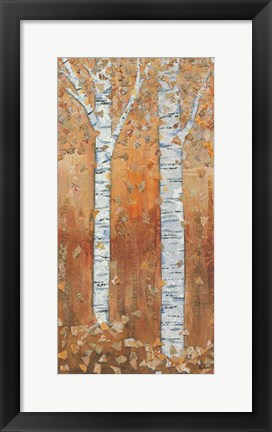 Framed Birch Tryptic II Print