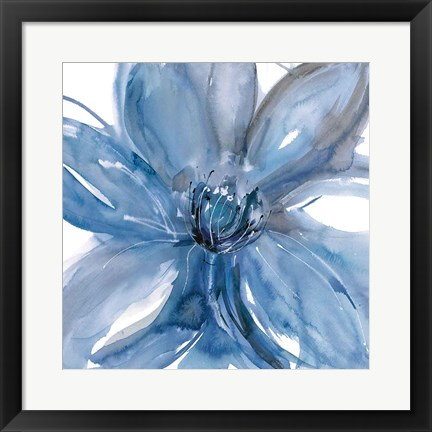 Framed Blue Beauty II Print