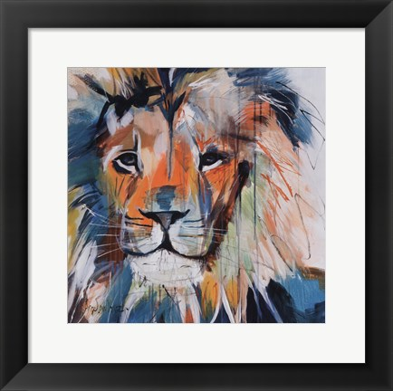 Framed Do You Want My Lions Share Print