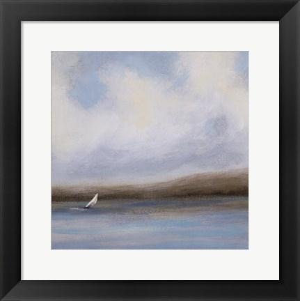 Framed Sailing Day II Print