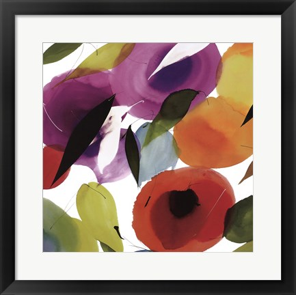 Framed Melody of Color II Print