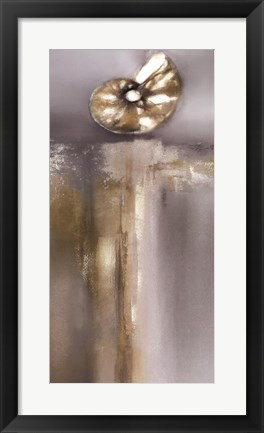 Framed Silver and Gold Treasures II Print