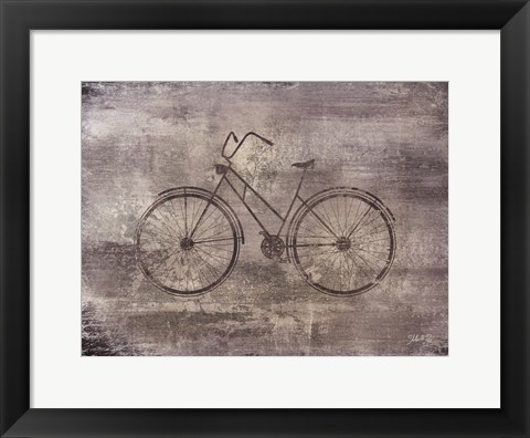 Framed Bicycle Print