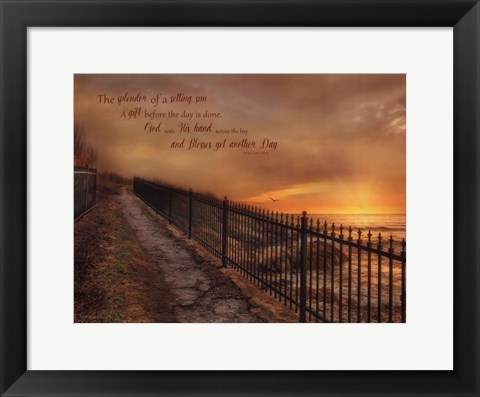 Framed God's Gift Print