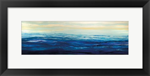 Framed Blue Waters Print