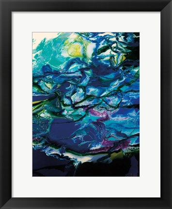 Framed Moon Tide Print