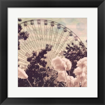Framed Feathery Ferris Print