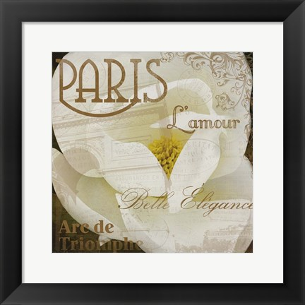 Framed Magnolia Paris Print