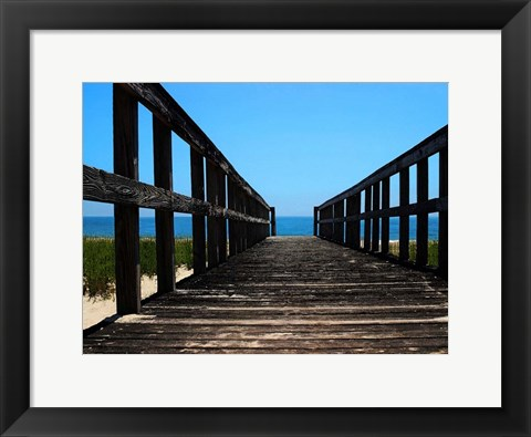 Framed Beach 0764 Print