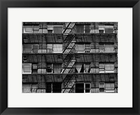 Framed Escaping The Fire C Print