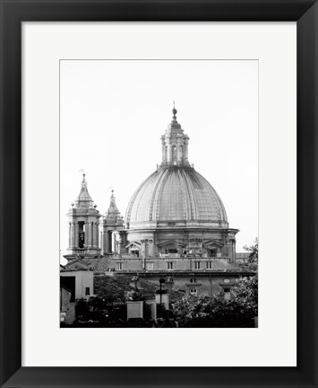 Framed Dome In The Sky Print