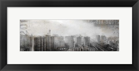 Framed Urban Day Print