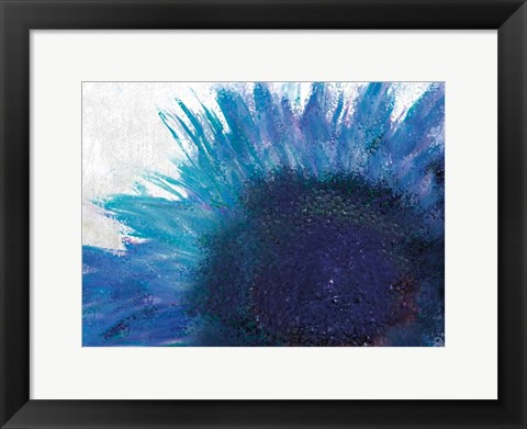 Framed Blooming Sunflower Print