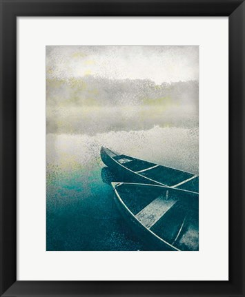 Framed Lake Dusk Print