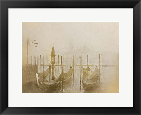 Framed Venice at Dusk Print