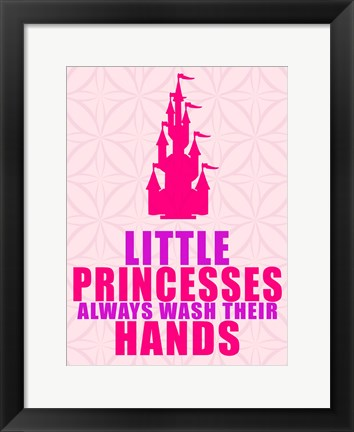 Framed Little Princesses Hands Print