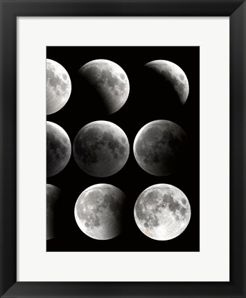 Framed Moon Phase 2 Print