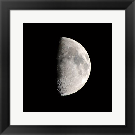 Framed Half Moon Print